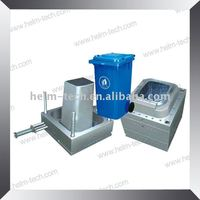plastic injection outdoor waste bin mould -1180(3)