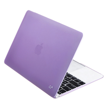 "Purple protective hard shell case for Macbook new 15"" Pro with Retina+Touchbar"