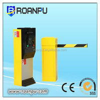 Security gates for parking lots