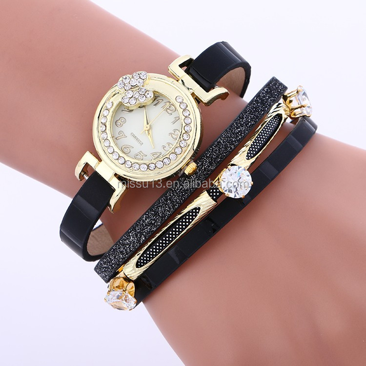 2017 Aliexpress top selling new design watches ladies