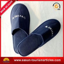 Professional hotel guest eva disposable slippers five star luxury hotel slippers closed toe airline slippers