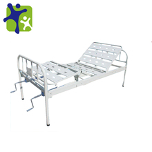 Iron hand Nursing Bed, cold-rolled steel tube of backrest and knee break up/down hospital nursing bed BFK-D-I