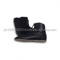 Good quality low price leather Boxing Shoes MS-1104