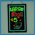 High quality aluminium alloy fluorescent illuminate advertise neon led billboard sign menu marker board for bars