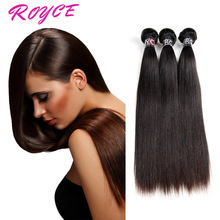 Human Virgin Remi Hair Extentions Unprocessed Malaysian Straight Hair Extention Top Sale Straight Human Hair
