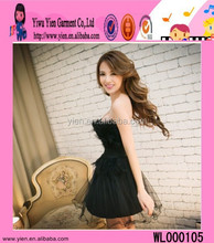 Fashion Hot Short Charming Girl Evening Dress Wholesale Cheap Show Thin Sexy Velvet Evening Dress