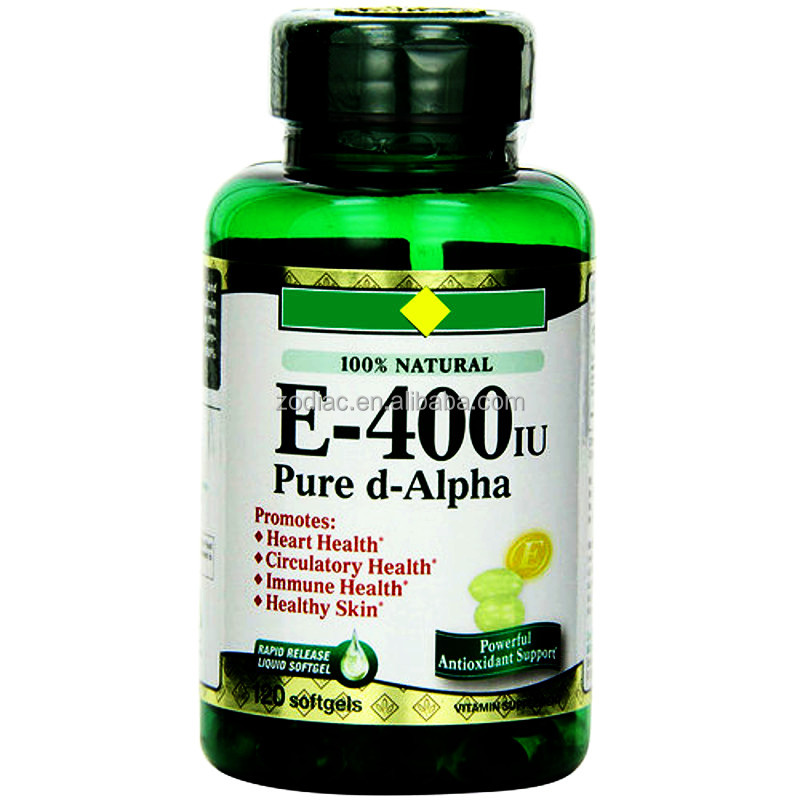 Prevents Oxidation Fighting Free Radicals Nature Vitamin E Supplement by Mouth