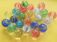 Quality Assurance flat round colorful colored toy 16mm glass gems playing glass marbles glass balls for decoration
