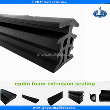 Jiangyin Huayuan supplys epdm foam extrusion rubber anti shock