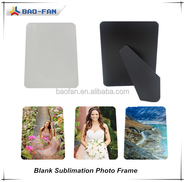 sublimation mdf wooden frame blank sublimation mdf photo frmae