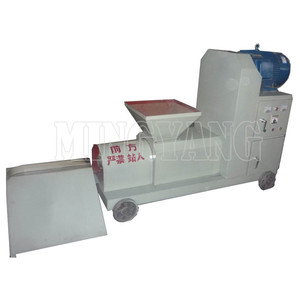 Factory Price Sawdust Wood Waste Chipps Screw Press Briquette Machine