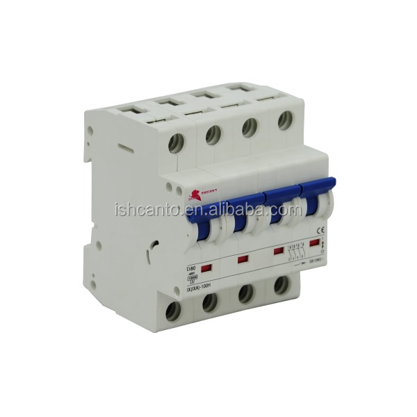 high quality 4P changeover switch mcb price