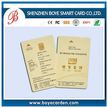 Full Color Lamination Sle5528 Contact Chip Card Manufacturer