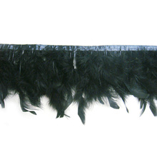 Fashion feather lace trim for designed clothes
