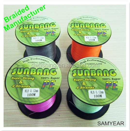 Factory fishing line nylon fishing line PE fishing line fluorocarbon
