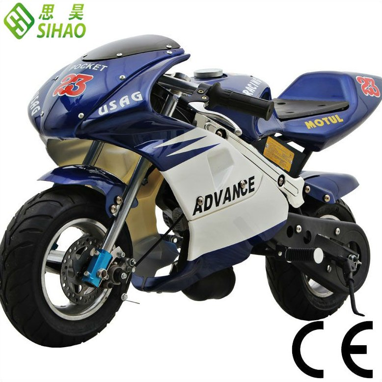 Low price 50cc Mini Pocket Bike for Kids 2-Stroke Pit Bike