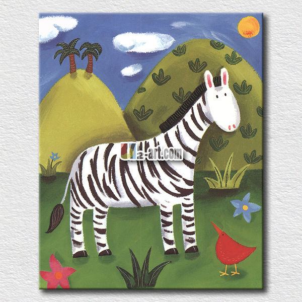 Cute zebra pictures for kids bedroom wall <strong>decoration</strong>