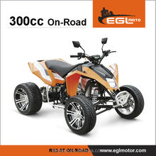 4 WHEELER 300cc ON ROAD STREET LEGAL ATV QUAD FOR RACING WITH EEC