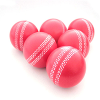 Promotional Foam PU Sports Adult Cricket Stress Ball