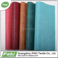 china supplier pattern design 1.1mm pu leather for making sofa for furniture