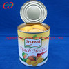 Cheap canned food supplier, canned yellow peach halves in syrup