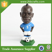 Factory ODM/OEM 3d Resin Custom Bobble Head For Sport Souvenir