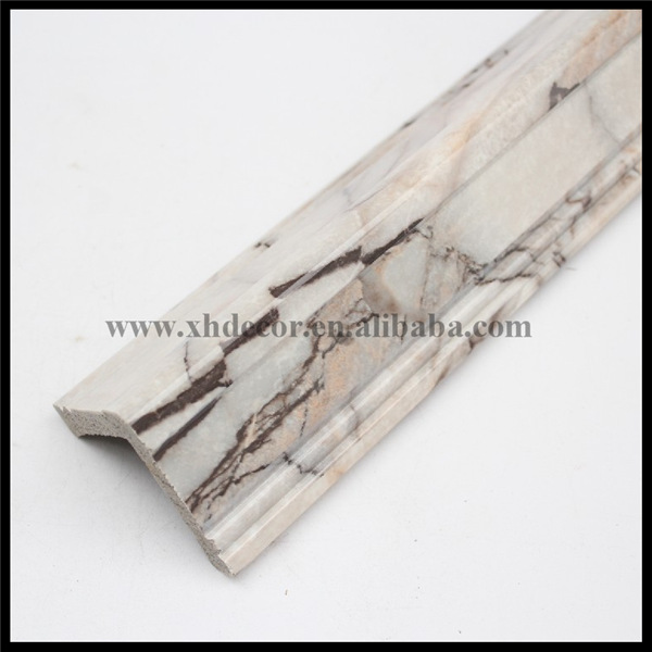 #490-A4 series Marble tone Building cheap picture frame moulding