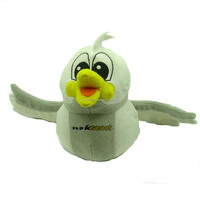 hanging soft plush bird toy