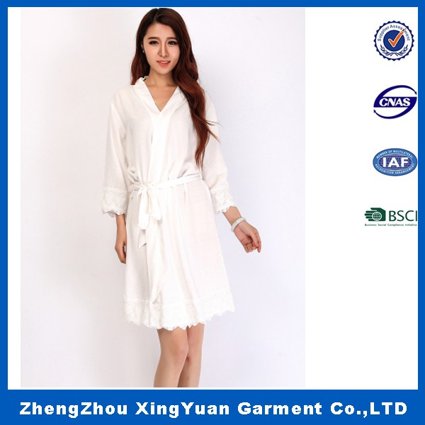 Ladies Luxury Full Length Dressing Gown, nightgown,Bath Robe with Many Colors