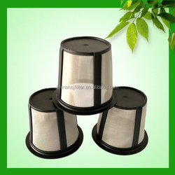 K cup filling and sealing machine plastic reusable cups coffee filter