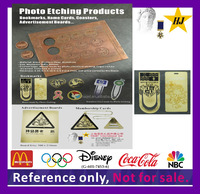 Photo etching product