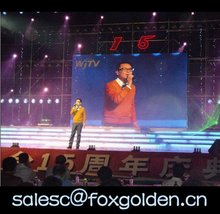 P20 full-color factory price led stage lighting/ strip curtain display
