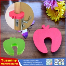 safety baby products furniture door stopper/rubber edge guard / security door finger guard