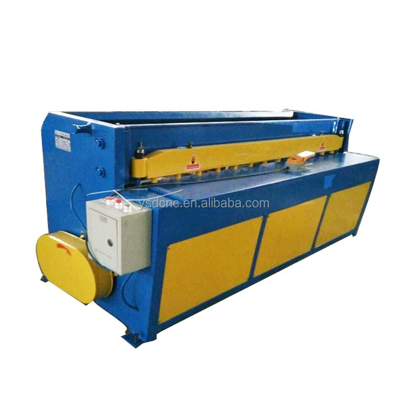 high work speed <strong>Q11</strong> electric mechanical metal sheet shearing machine