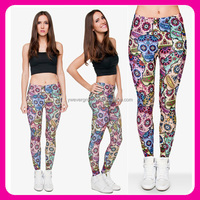 3D Fullprint Mexican Skull Girls Tights Skinny sex Pictures of Women in Tight Leggings