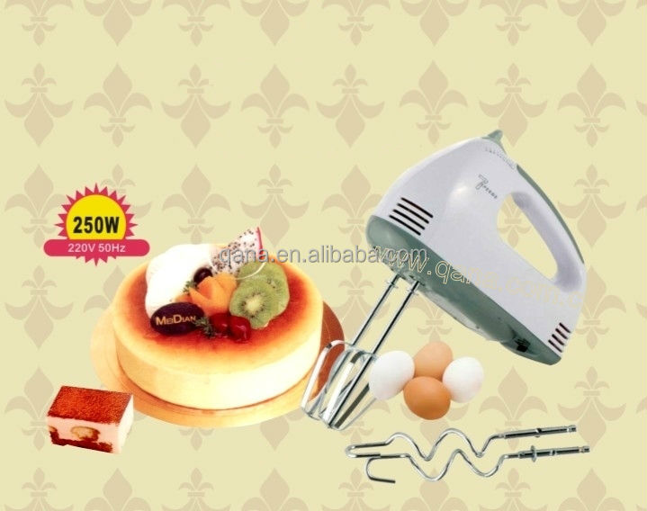 Electric operated 7 speed hand mixer