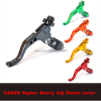 CNC CUTTING MACHINED Aluminum PRO Stunt Raptor Shorty Adjustable Clutch lever