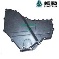 China truck sino truck howo dump truck spare engine parts VG14010083B Oil cooler cover spare parts in dubai