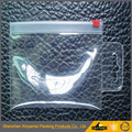small mini transparent vinyl zipper ziplock plastic packaging bags