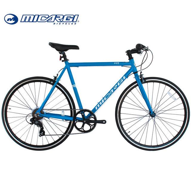 Micargi 700c alloy fixed gear bicycle RD 7 speed road bike