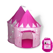 Princess Baby Girls Kids Tent Star Shining Children Play Castle Tent