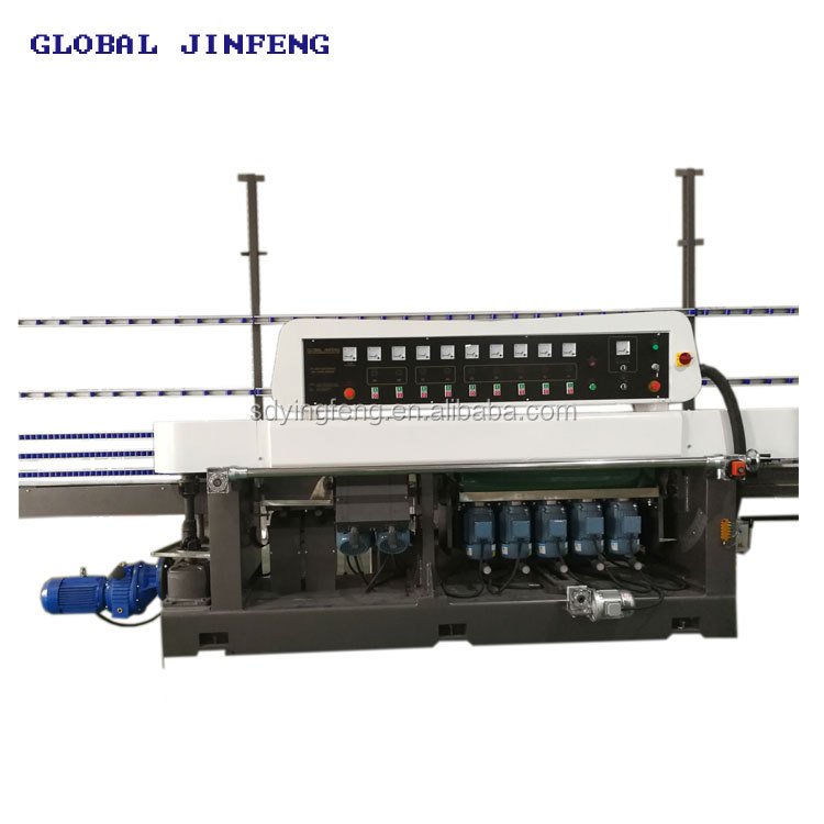 JFE-9540 Multi-function glass straight line edging machine