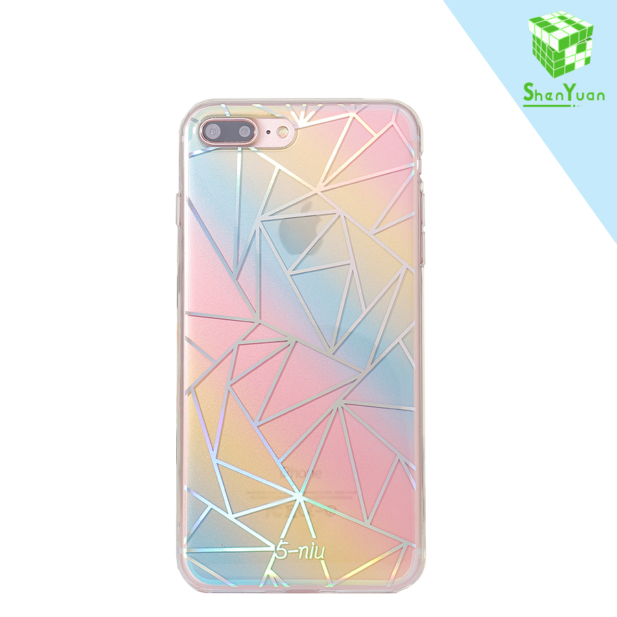 Wonderful Seven Colours Shenzhen Factory Wholesale Cell Phone Case For iPhone 6 7 plus