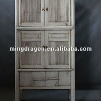 Chinese Antique Furniture Tall White Bamboo