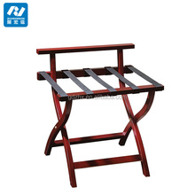Hotel room antique luggage racks wooden hotel room suitcase rack