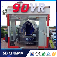 New Year New Item Egg 9D Cinema Simulator 9d Virtual Reality Cinema With Egg Seats