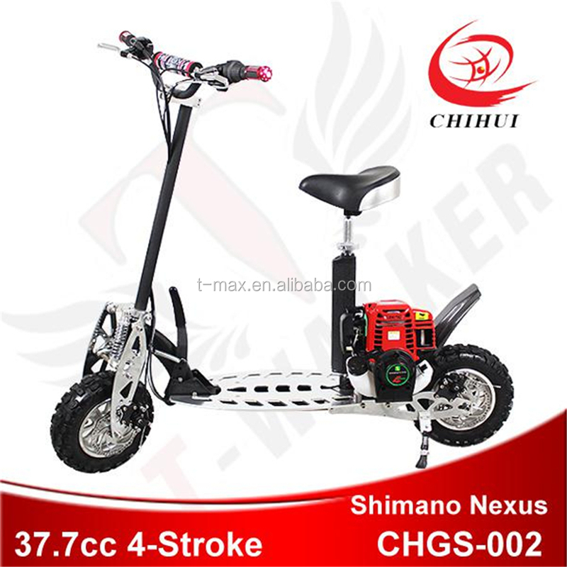 Chihui cheap 49cc folding gas scooter for sale oem for Cheap gas motor scooters