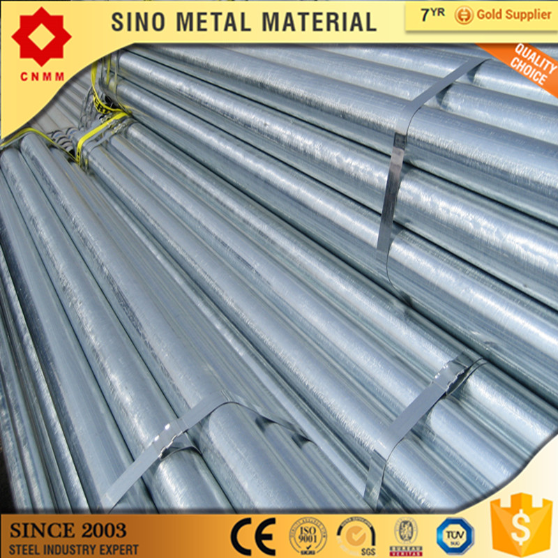 12mm galvanized pipe/astm a500 structural steel pipe/erw pre galv.tubes