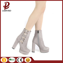 Made in China lace-up zipper women leather boots fetish high heel boots wholesale western boots