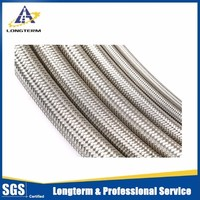 Nice quality and export standard stainless steel braiding corrugated flexible metal hose